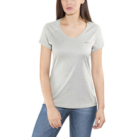 Columbia Zero Rules Shortsleeve Shirt Damen columbia grey heather